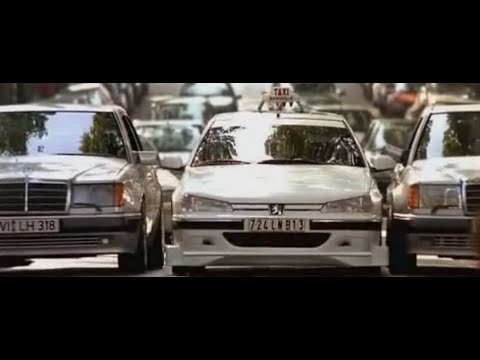 Taxi (1998) - Peugeot 406 STW vs Mercedes W124 500E