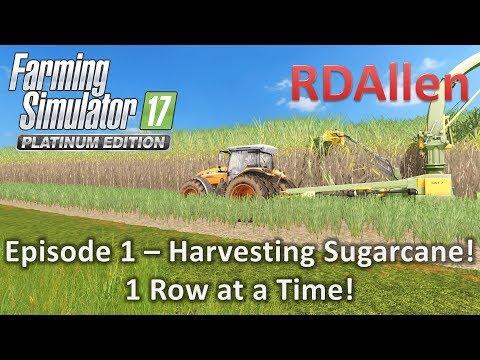 FS17 Platinum MP Estancia Lapacho E1 - Harvesting Sugarcane