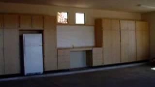Manny's Organization Station, Garage Storage Cabinet Installation 9-16-09
