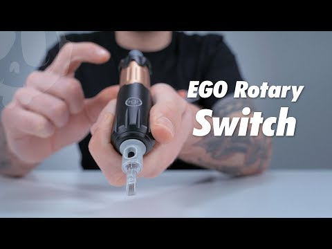 EGO Rotary Switch Tattoo Machine | Review, Setup & Unboxing
