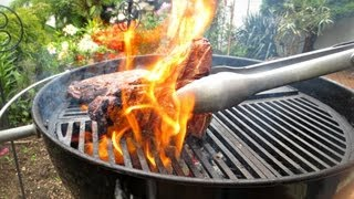 How To Grill A T-bone Steak Without Losing Those Lovely Juices - Bbq Recipe - Pitmaster X