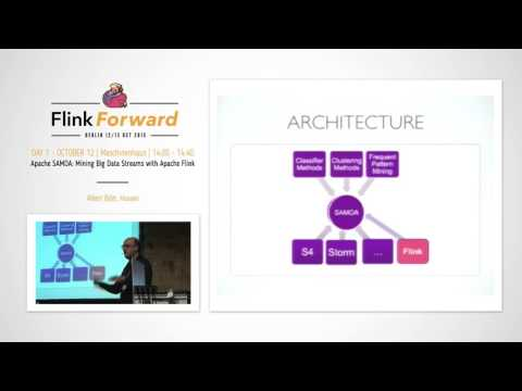 Flink Forward 2015: Albert Bifet – SAMOA Mining Big Data Streams