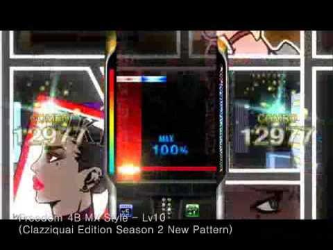 [DJMAX] Clazziquai Edition Freedom 4B MX Style (New Pattern)