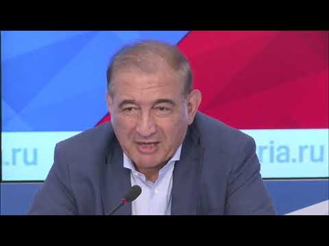 مؤتمر صحفي للدكتور قدري جميل في موسكو 18/07/2017  - 17:23-2017 / 7 / 18