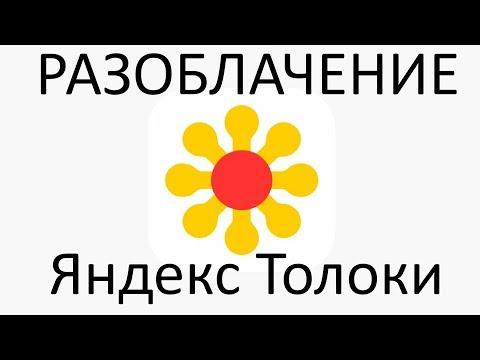 Разоблачение Яндекс Толоки. Часть 2