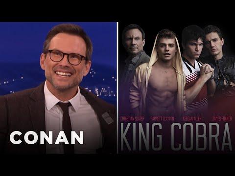 Christian Slater On Playing A Gay Pornographer  - CONAN on TBS