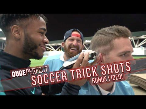 Dude Perfect: Soccer Trick Shots BONUS Video