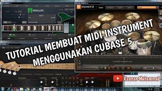 Tutorial Membuat Instrument Midi Menggunakan Cubase 5 by Rasman Muhammad