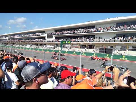 F1 Austin Grand Prix race start!