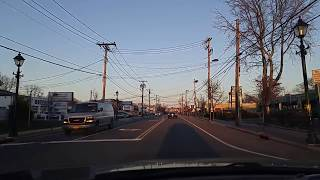 Driving Amityville New York