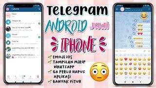 CARA MENGUBAH TAMPILAN TELEGRAM ANDROID MENJADI IPHONE / IOS || SUPER MUDAH !! ✨😆 screenshot 5
