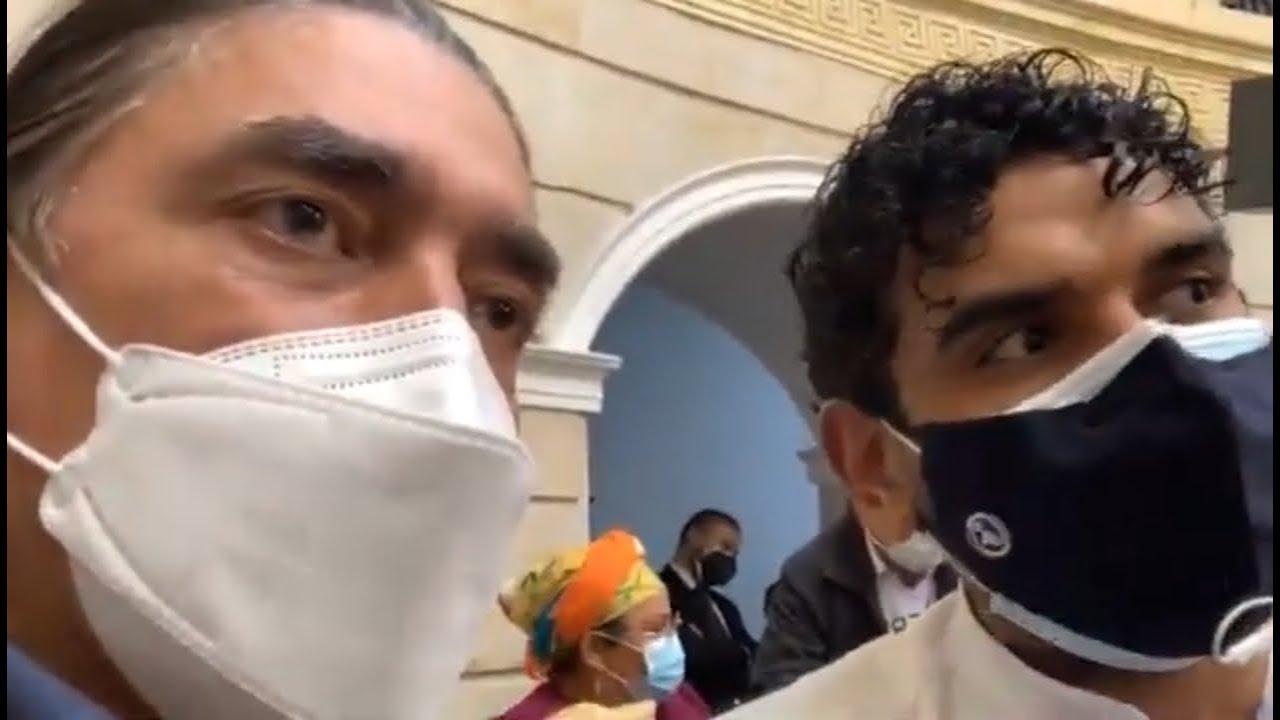 """Elección de mesa directiva 2da vicepresidencia del Senado"":Gustavo Bolívar."