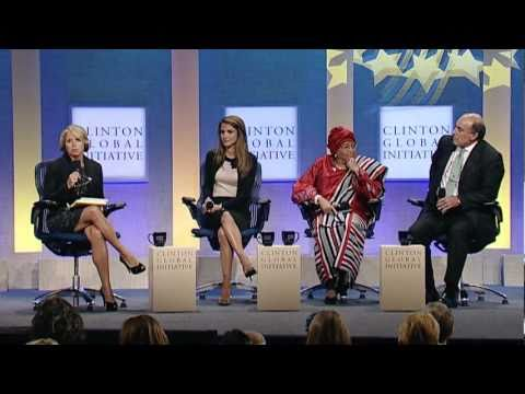 CGI 2010 Plenary: Empowering Girls and Women