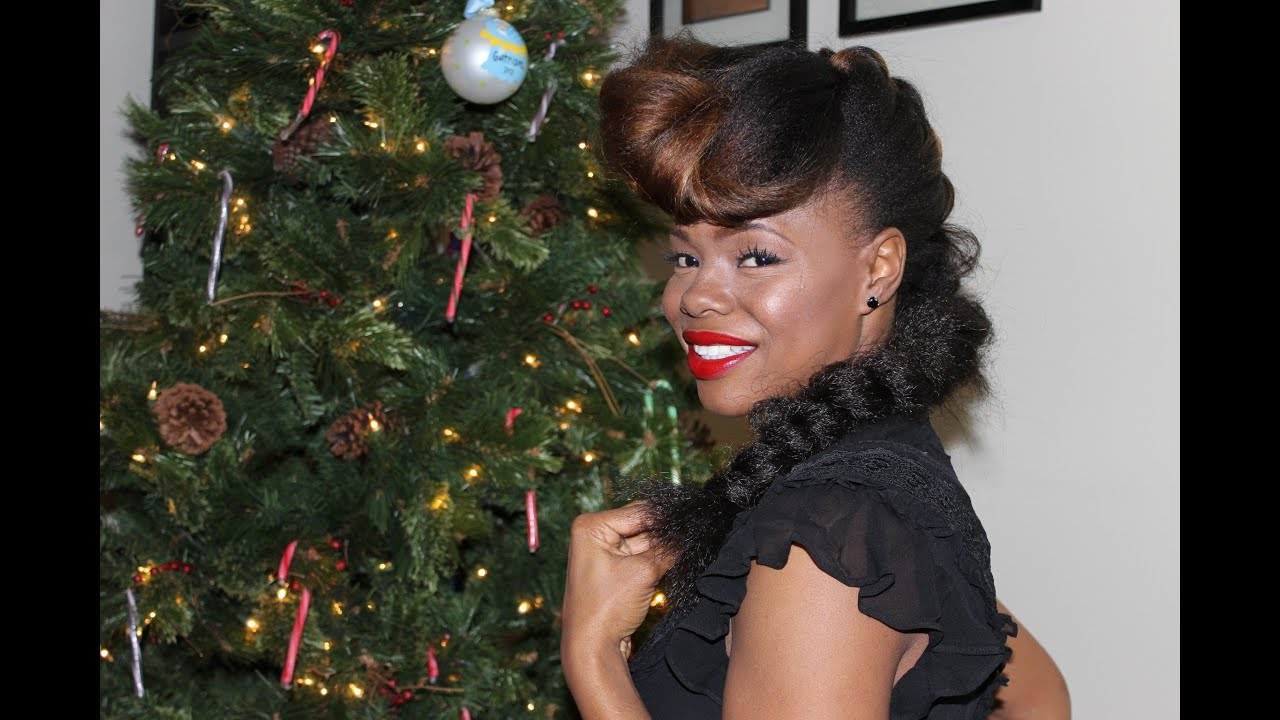 Hair Style Of Death: 5 Naturalistas' Hairstyle Guide To The Holidays