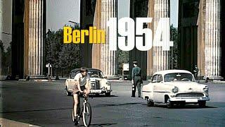 Berlin 1957 - 1960 color -  Berlin Ost & West vor dem Mauerbau - Berlin East & West without wall