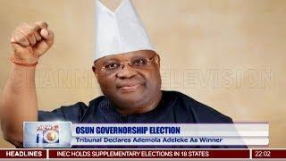 Osun Election: Tribunal Declares Ademola Adeleke As Winner