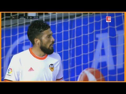 Ezequiel Garay VS Real Madrid | (22/02/2017)