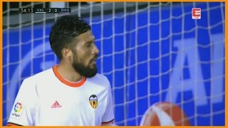 Ezequiel Garay Vs Real Madrid | (22/02/2017)