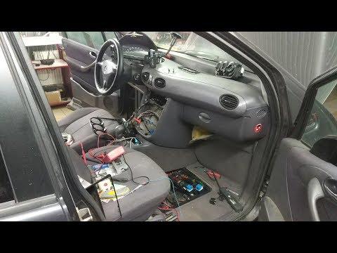 Mercedes A140 постоянно крутится вентилятор (очень трудный ремонт для меня)