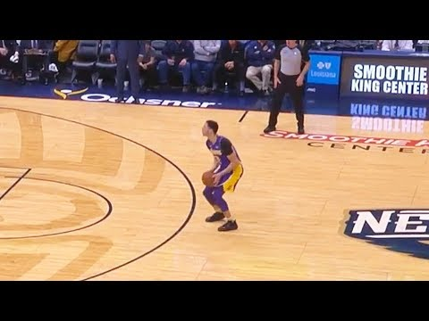 Download Youtube: Lonzo Ball Tries To Be Stephen Curry & Misses Every Shot!