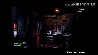 I tryd to beat night 2 with one finger (fnaf ep1)