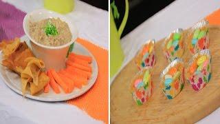 حلو عش العصفور - معجون رنجة بالجبنة والليمون ووصفات أخري |  أميرة في المطبخ حلقة كاملة