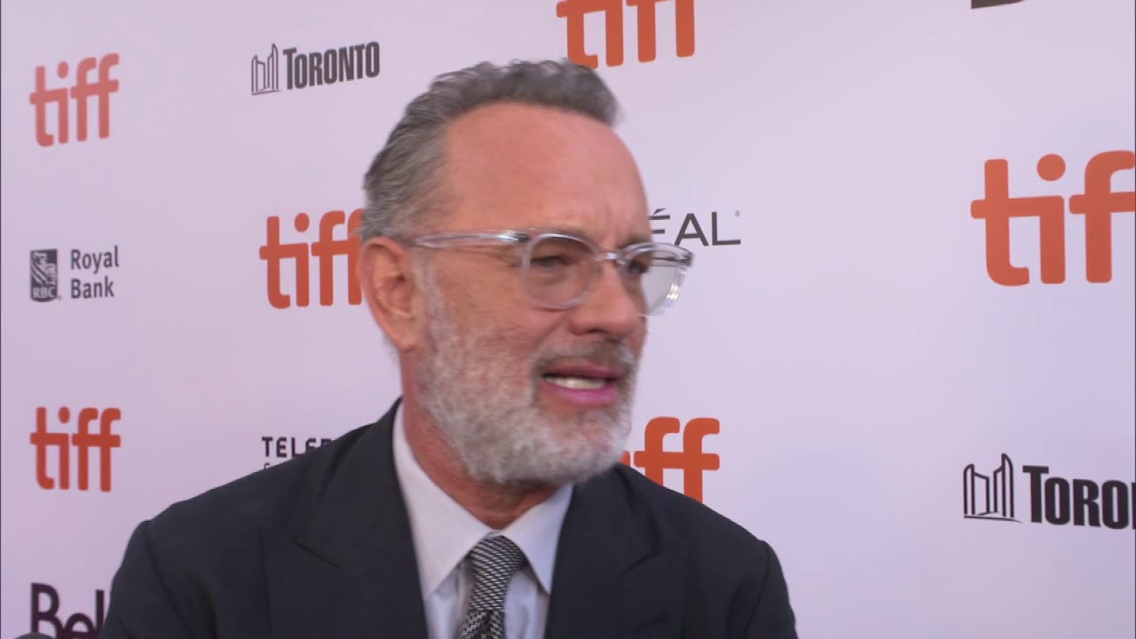 A Beautiful Day Tom Hanks Fred Rogers Tiff Official Premiere Interview Youtube
