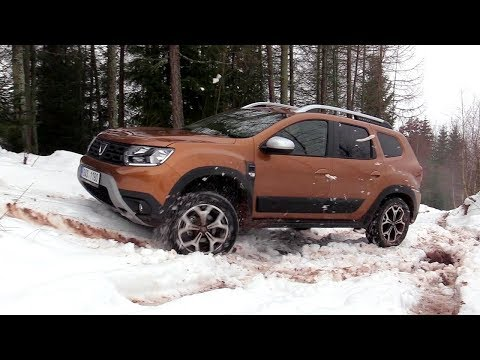 New Dacia Duster 2018 4x4 Off road Driving footage