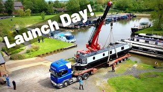 47. Launch Day For Silver Fox - Our New Canal Narrowboat!