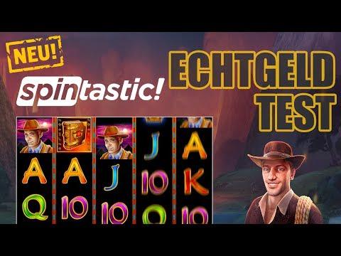 Spintastic - NEUES NovoLine Casino - Echtgeld Test Book of Ra