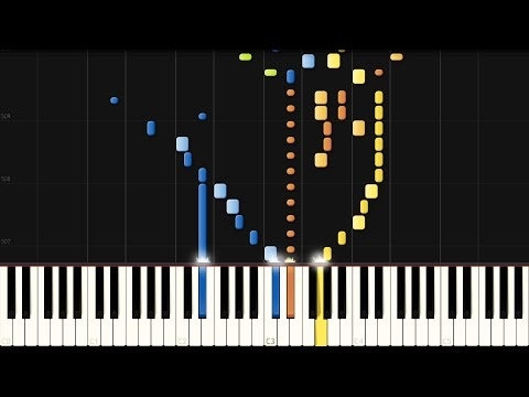 Beethoven: Piano Sonata No. 12 in A-flat major - Complete [Piano Tutorial] (Synthesia)