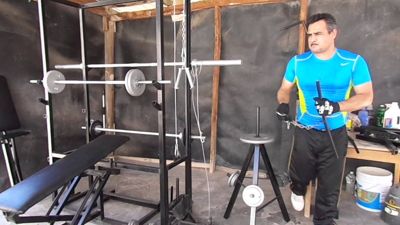 Aparato para hacer ejercicio multifuncional youtube for Aparatos de ejercicio