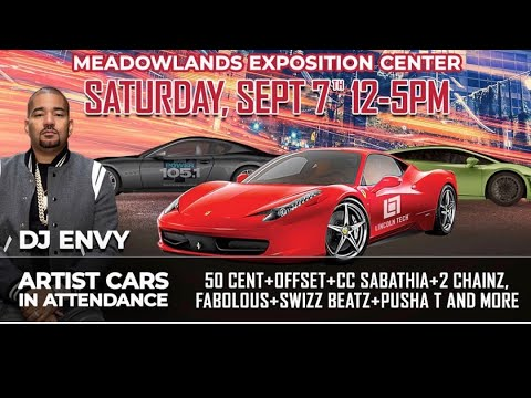 LIVE FROM DJ ENVY DRIVE YOUR DREAMS CAR SHOW
