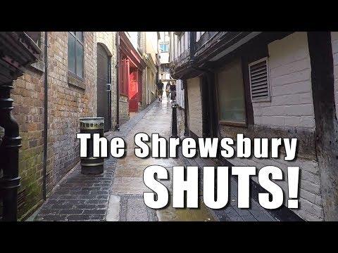 Walks In Shropshire: The Shrewbury Shuts