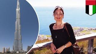Женщина с разбитым сердцем спрыгнула с самого высокого в мире небоскрёба