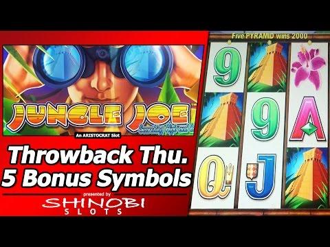Jungle Joe Slot - TBT Free Spins Bonus, Curse of Max Bonus Symbols? - 동영상