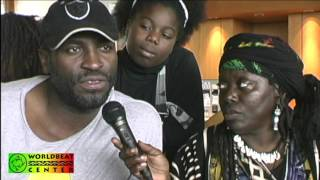 Making of The Reggae Legends documentary clip - Interview with Eek A Mouse 2002