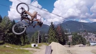 Pedal with Pros Down the Red Bull Joyride Course: 4K 360° Preview thumbnail