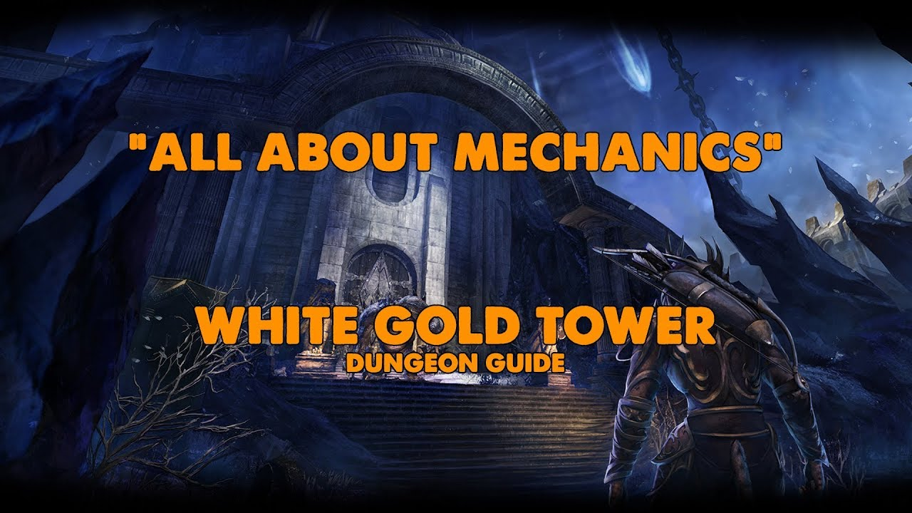Xynode Gaming - White Gold Tower