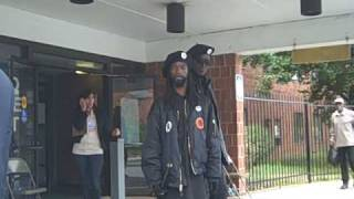 """""""Security"""" patrols stationed at polling places in Philly"""