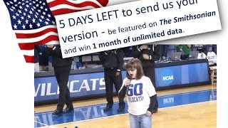 5 DAYS LEFT TO SING ANTHEM & WIN UNLIMITED WIFI DATA FOR 1 MONTH