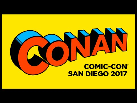 San Diego Comic Con 2017 - Conan O'Brien Tickets Announced