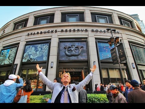 WORLD'S LARGEST STARBUCKS (30,000-square-foot)