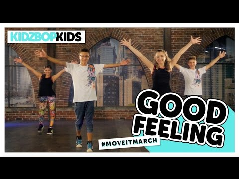 KIDZ BOP Kids  Good Feeling #MoveItMarch