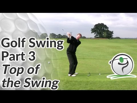 Top of the Golf Swing – How to Position the Club Correctly at the Top