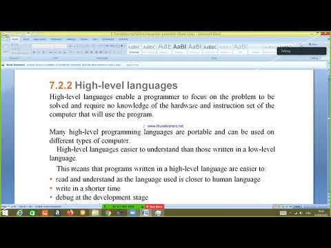 Sc Computer Science  Paper 1 Translators Compilers Interpreter Assembler