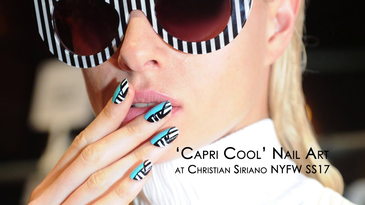 NYFW Tutorial: Create the nail design from Christian Siriano\'s SS17 ...