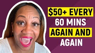 How To Make $50.00 Again and Again With Your Smartphone OR Laptop (Step By Step)