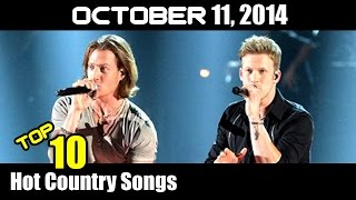 Top 10 Hot Country Songs Of The Week- October 11, 2014