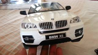 Remote control bmw x6 unboxing demo